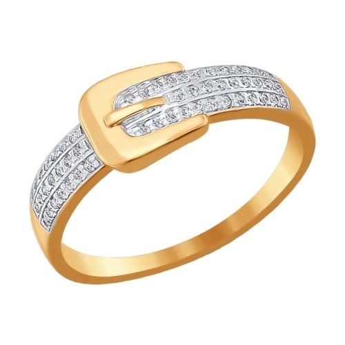 Золотое кольцо SOKOLOV арт 695