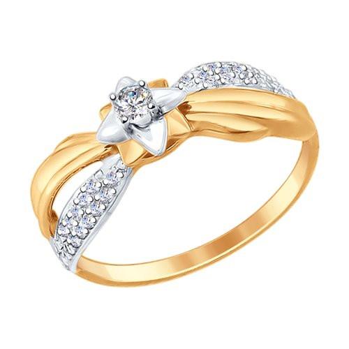 Золотое кольцо SOKOLOV арт К-1416