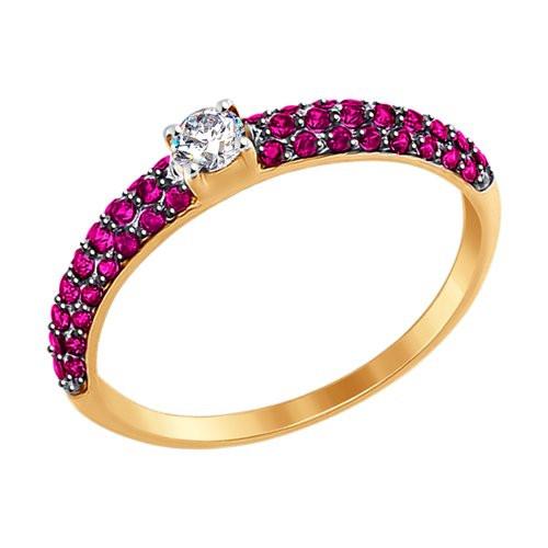 Золотое кольцо SOKOLOV арт 1349