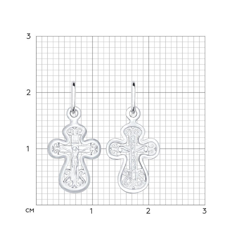 Крест из серебра Арт ПС-073