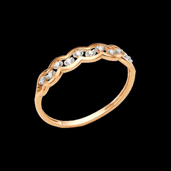 Кольцо из золота DINASTIA Арт К-1715