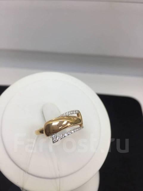 Кольцо из золота с фианитами DINASTIA Арт К-1737