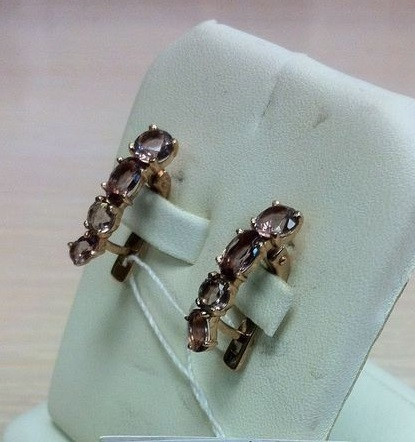 Золотые серьги арт с-302