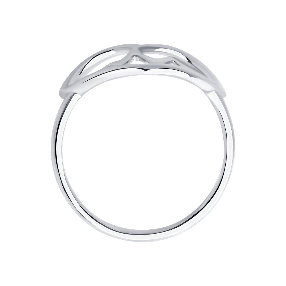 Кольцо из серебра в форме сердца SOKOLOV Арт КС-376