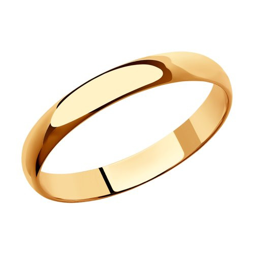 Обручальное кольцо из золота арт-2003