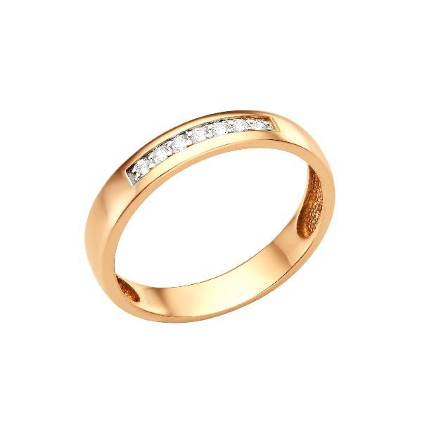 Обручальное кольцо из золота арт-1992