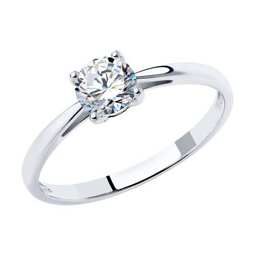 Кольцо из серебра с фианитами арт кс-480