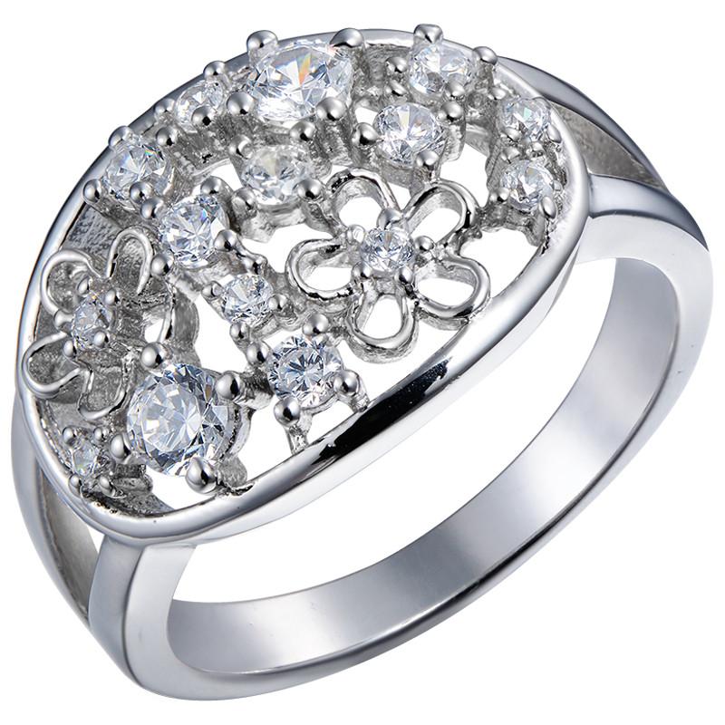 Кольцо из серебра арт срк-195