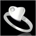 Кольцо из серебра арт срк-199