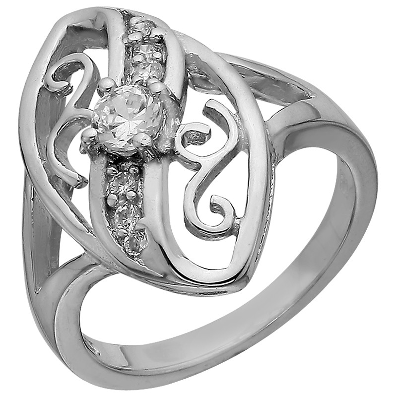 Кольцо из серебра арт срк-205