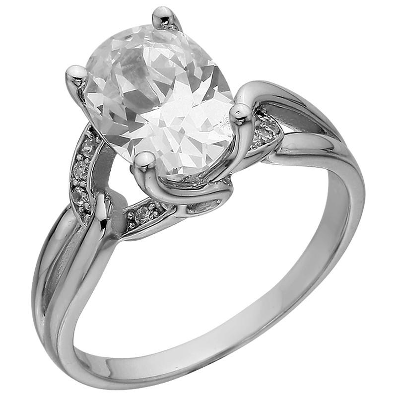 Кольцо из серебра арт срк-206