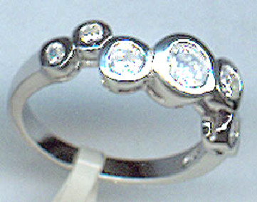 Кольцо из серебра арт срк-253