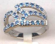 Кольцо из серебра арт срк-259