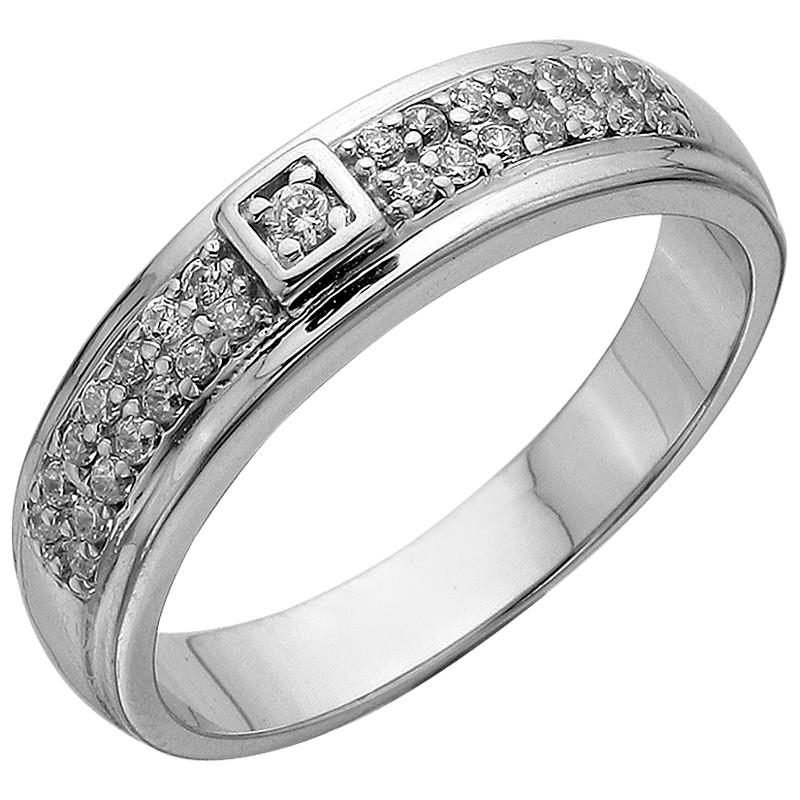Кольцо из серебра арт срк-271