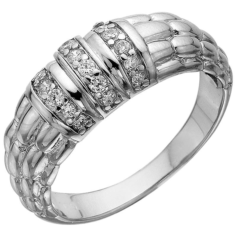 Кольцо из серебра арт срк-273