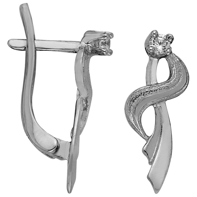 Серьги из серебра  арт срс-409