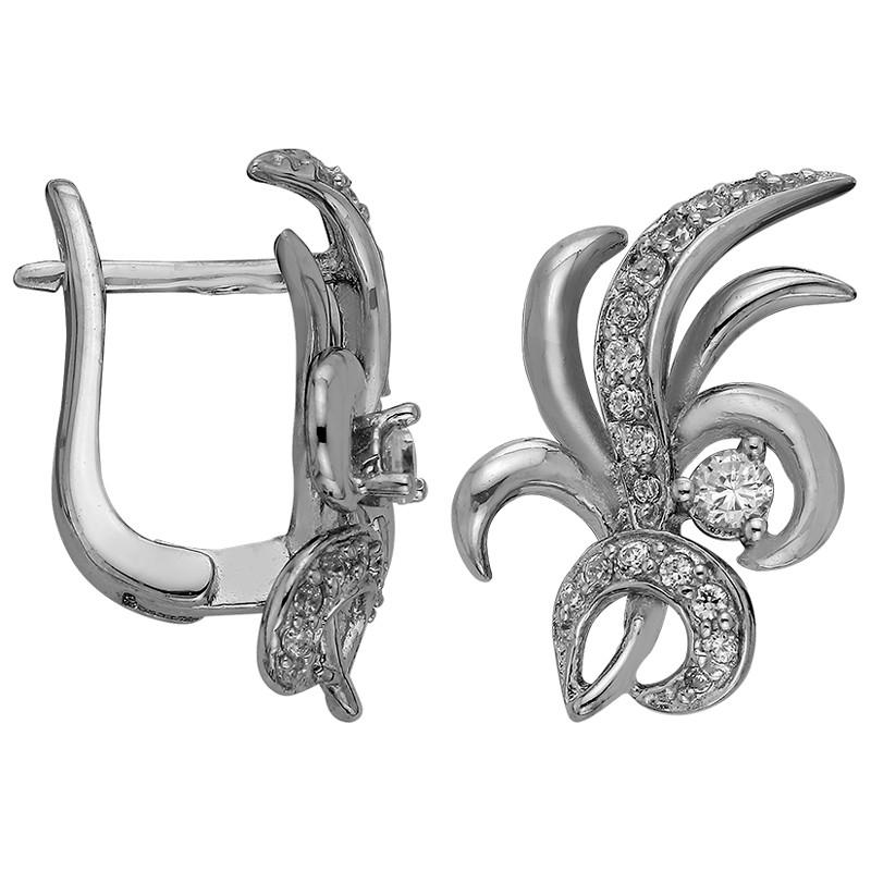 Серьги из серебра  арт срс-414