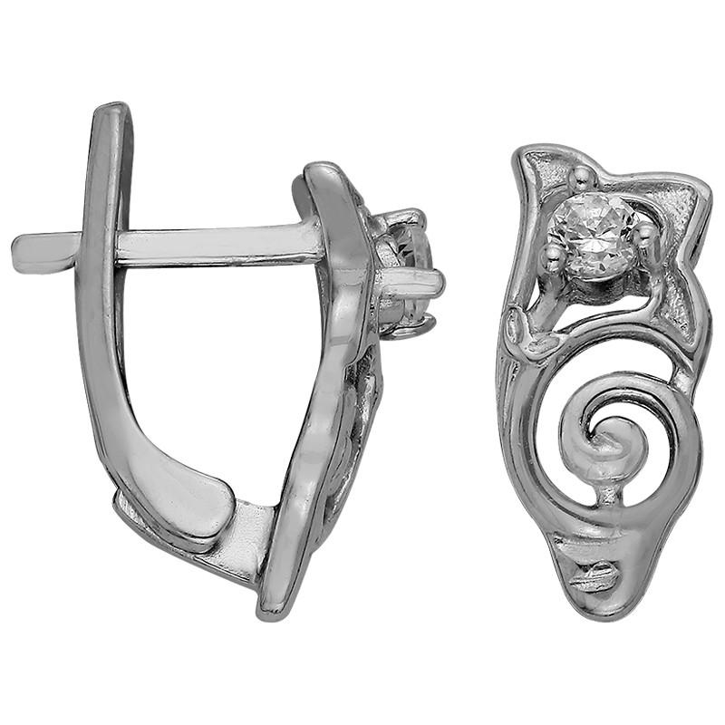 Серьги из серебра  арт срс-415
