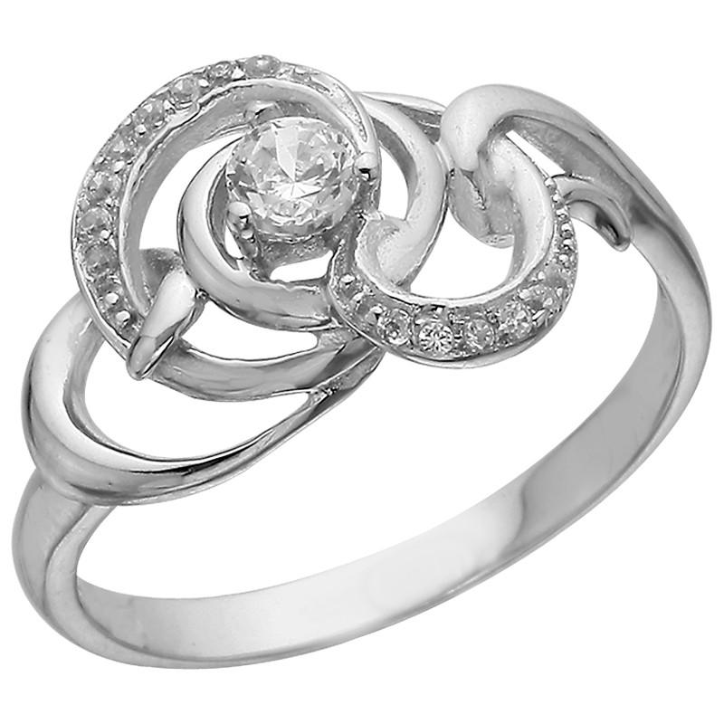 Кольцо из серебра арт срк-447