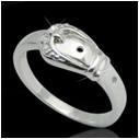 Кольцо из серебра арт срк-448