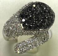 Кольцо из серебра арт срк-451