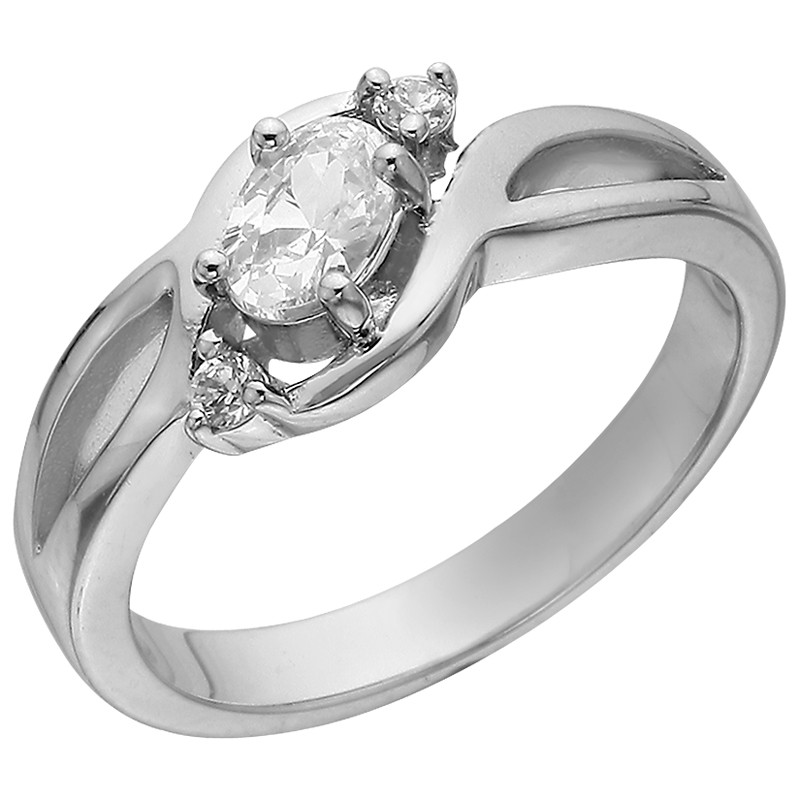 Кольцо из серебра арт срк-470