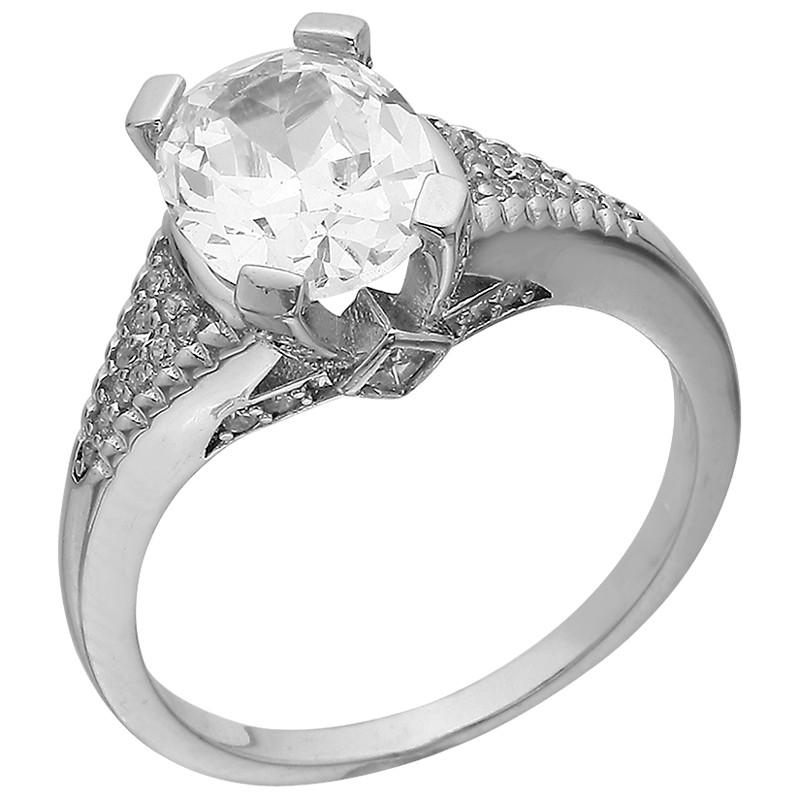 Кольцо из серебра арт срк-473