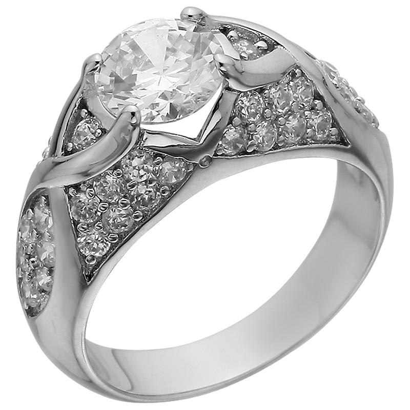 Кольцо из серебра арт срк-481