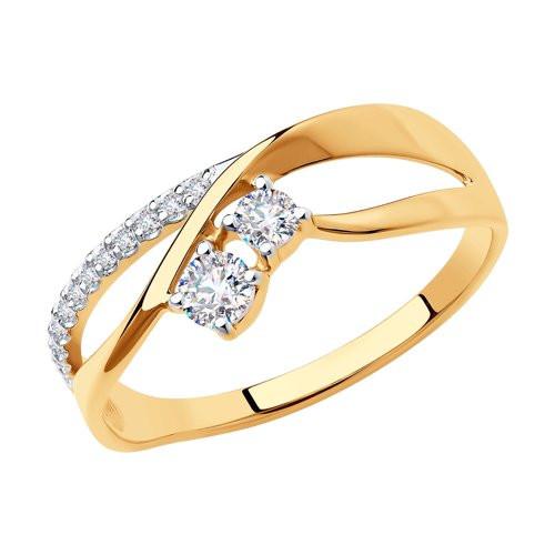 Золотое кольцо  арт кз-235
