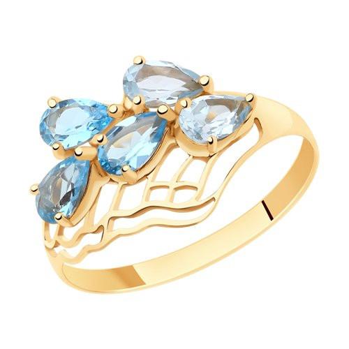 Золотое кольцо  арт кз-242