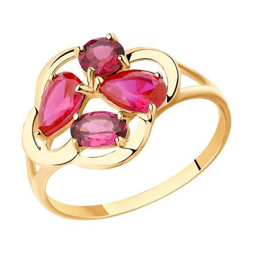 Золотое кольцо  арт кз-244