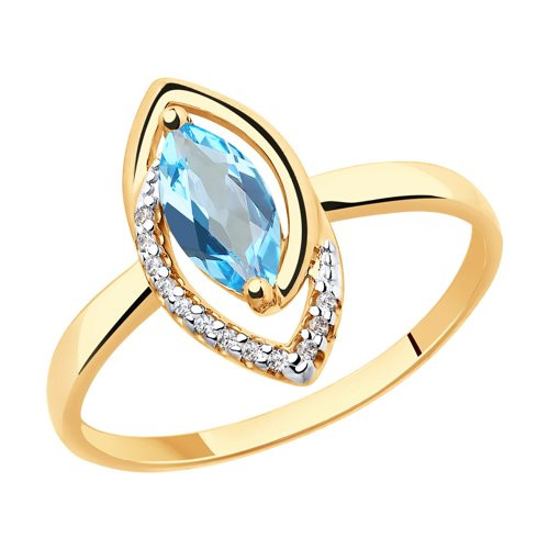 Золотое кольцо  арт кз-246