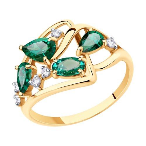 Золотое кольцо  арт кз-261