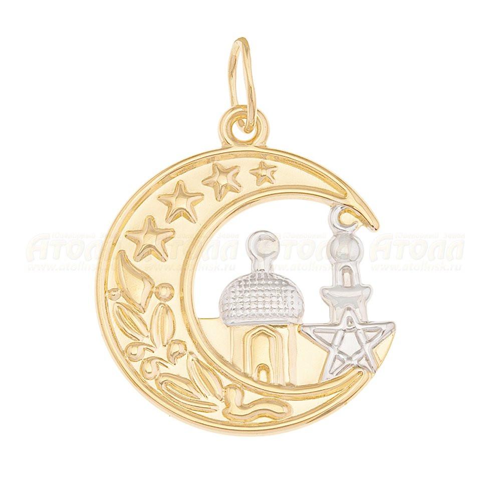 Золотая подвеска арт п-794