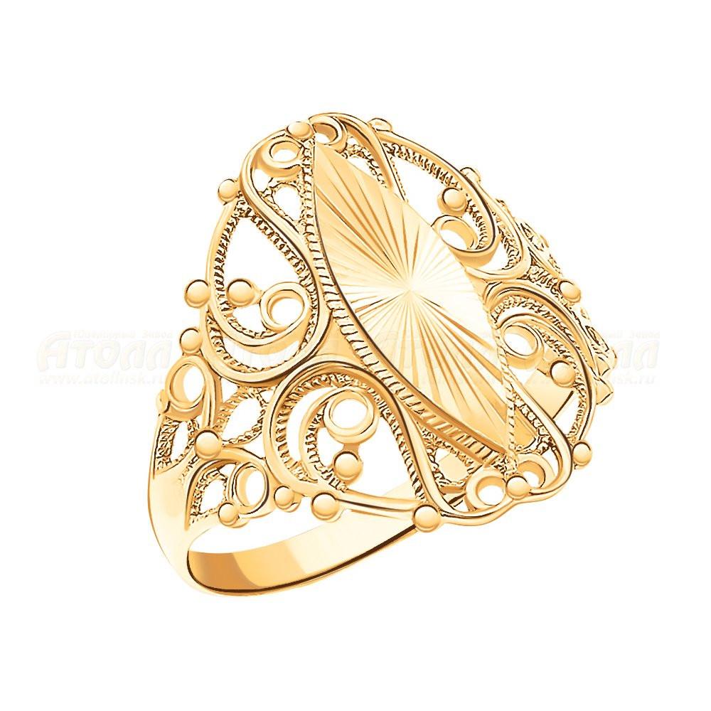 Золотое кольцо  арт кз-293