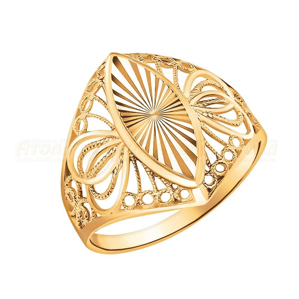 Золотое кольцо  арт кз-294