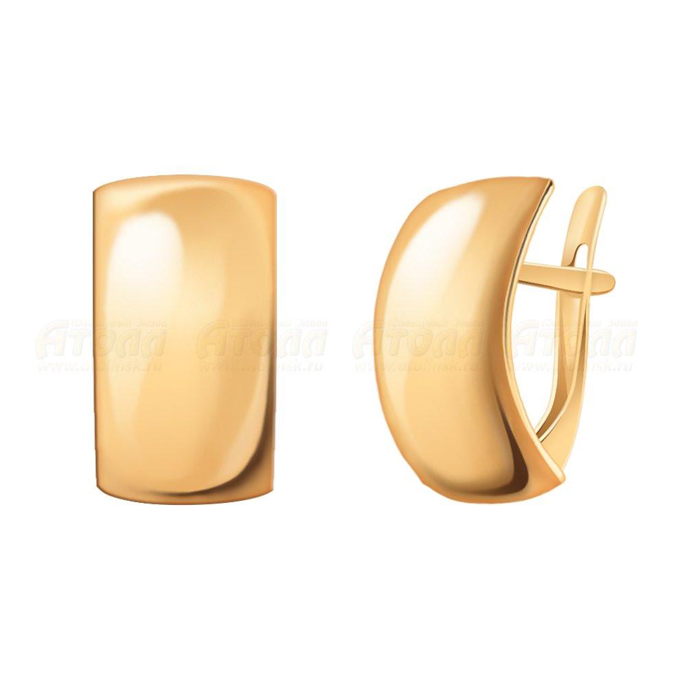 Серьги из золота  арт сз-324