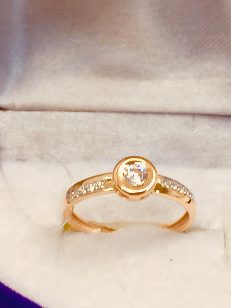 Кольцо из золота арт-2090