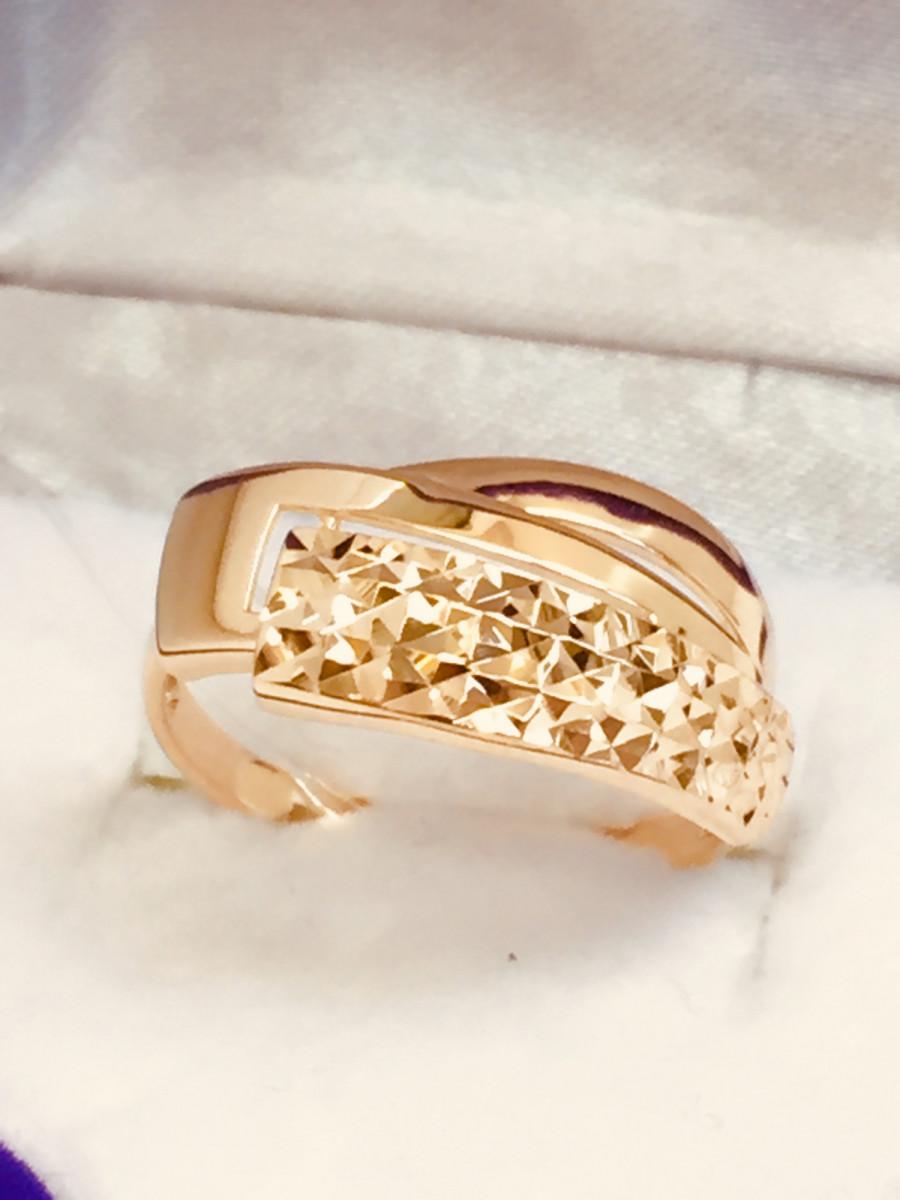 Кольцо из золота арт-2107