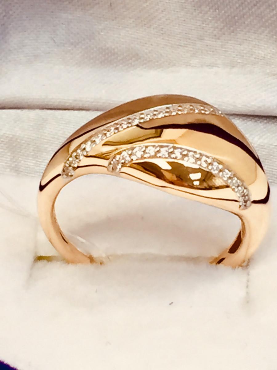 Кольцо из золота арт-2088