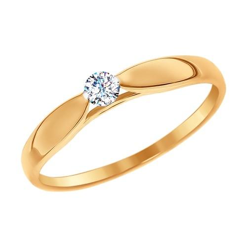 Золотое кольцо SOKOLOV арт 763