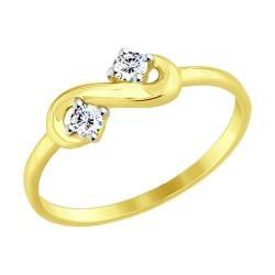 Золотое кольцо SOKOLOV арт 894