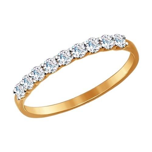 Золотое кольцо SOKOLOV арт 1132