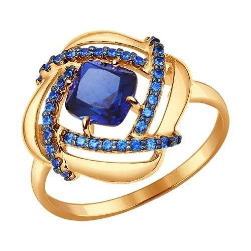 Золотое кольцо SOKOLOV арт 1161