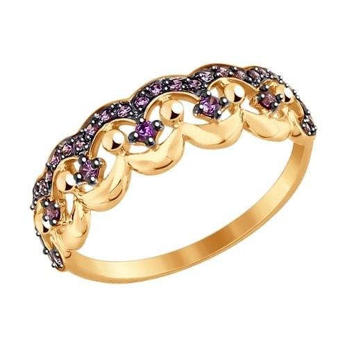 Золотое кольцо SOKOLOV арт 1114