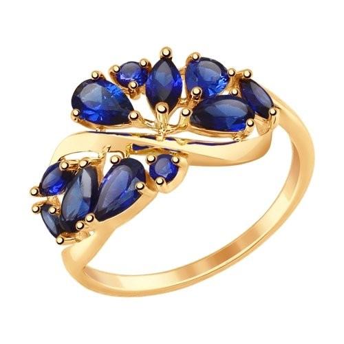 Золотое кольцо SOKOLOV арт 1158