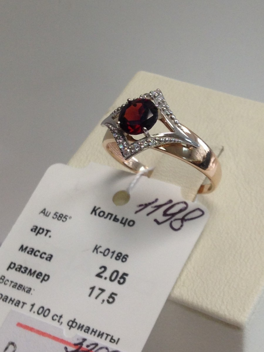 Золотое кольцо арт к-1198