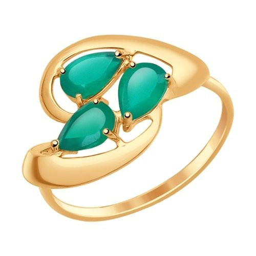 Золотое кольцо SOKOLOV арт 1206