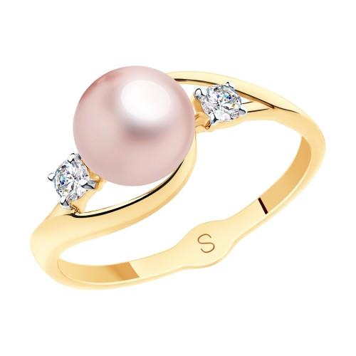 Золотое кольцо SOKOLOV Арт К-1537