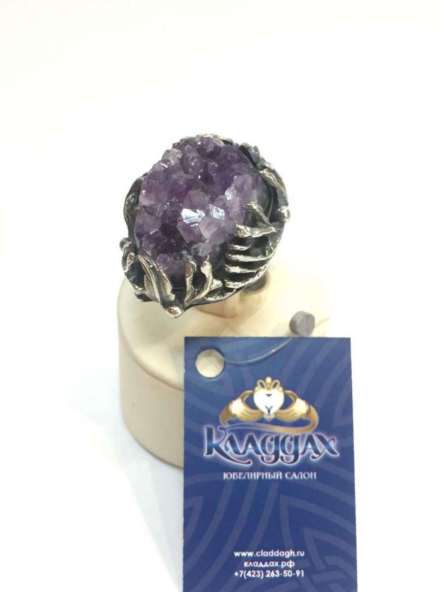 Кольцо из серебра ручной работы Арт 017